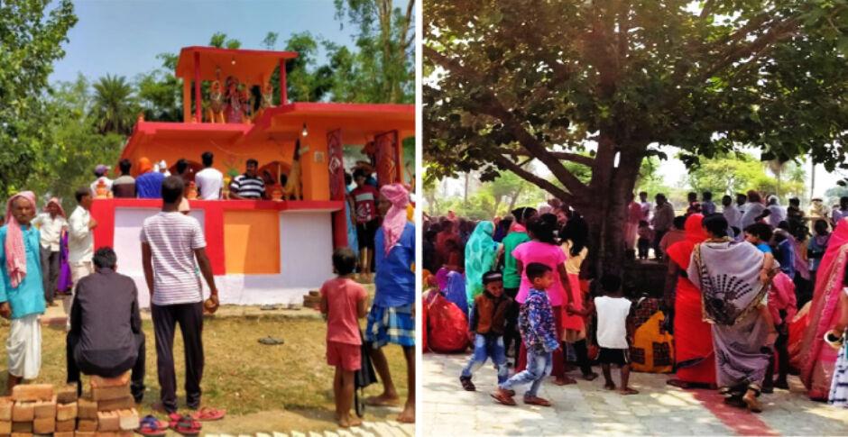 झारखंड के कोडरमा में आषाढी पूजा के साथ ग्रामीणों ने की कोरोना की पूजा, ताकि गांव में न फैले बीमारी