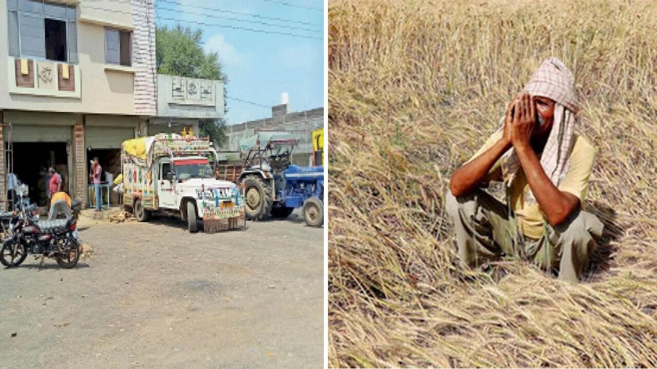 मोदी के किसान बिल का दिखने लगा असर, मंडी बंद होने से खुले बाजार में 4000 की जगह 2500 रुपये क्विंटल सोयाबीन बेच रहे किसान